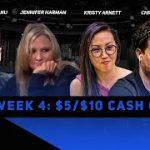Friday Night Poker | Week 4 | Daniel Negreanu, Jennifer Harman & Kristy Arnett