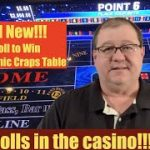 All New Roll to Win Electronic Craps Table!!