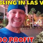 Gambling In Las Vegas- Christopher Mitchell Baccarat Strategies Make $2,800 Cash Profit.