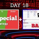 Day 18 | 2nd BANKER + 89 Special Baccarat Strategies Played Together!