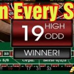 HOW TO WIN AT ROULETTE WITH EVERY SPIN [Roulette strategy to win]