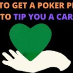 How to Get a Poker Player to TIP YOU A CAR