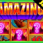 LANDING ALL 3 WILDS IN THE BONUS LEADS TO A MASSIVE JACKPOT HAND PAY On Buffalo Diamond