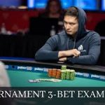 3-Bet Pre-Flop Examples In Poker Tournaments