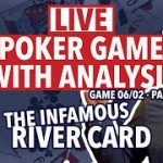 LATE NIGHT POKER Commentary – SAVAGE River Card Ruins Everything! (06/02) PT2