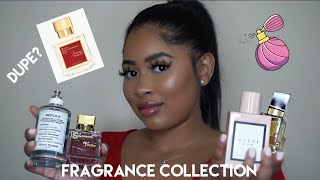 PERFUME COLLECTION 2020 + MFK BACCARAT ROUGE 540 DUPE? + USEFUL TIPS WHEN PURCHASING MFK FRAGRANCES