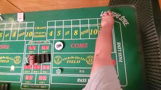 Craps strategy. The 1.5 DONT no Matter What!