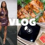 TA$TE OF MY LIFE VLOG: I Got Baccarat Rouge Baby, Luxury Unboxing, Watch Me Style & Take Pics for IG