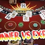 BEGINNER VS EXPERT Blackjack – D&D Episode 2