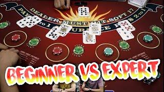 BEGINNER VS EXPERT Blackjack – D&D Episode 2
