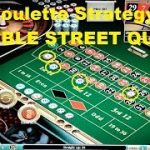 The DOUBLE STREET QUAD Roulette strategy. A difficult to win strategy !!!