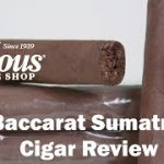 Baccarat Sumatra Cigars Review – Famous Smoke Shop