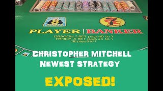 BACCARAT SCAMMER CHRISTOPHER MITCHELL'S NEWEST $2500 STRATEGY EXPOSED!