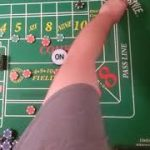 Craps! Trying the AB10 on a Crapsless Table! Works like a champ!