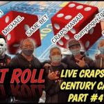 Live Casino Craps #4 – Let It Roll, Craps Hawaii, Sleepy2525, Sumyunguyzgames at the Century Casino