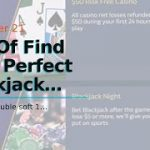 The Of Find Your Perfect Blackjack Strategy William Hill Vegas