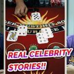 REAL CELEBRITY STORIES + Blackjack – David vs. Timmy #3