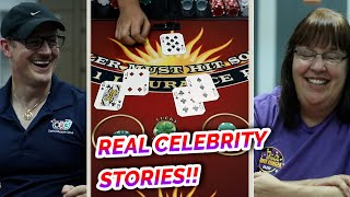 REAL CELEBRITY STORIES + Blackjack – David vs. Timmy #3