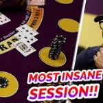HUGE BLACKJACK SESSION – David vs. Timmy #2