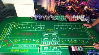 Inside martingale craps strategy & ATS. Missed a point of 8 at the end typical crappy lol