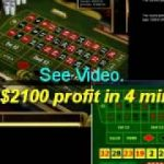 HOW TO BEAT ONLINE ROULETTE GAME OVER !!