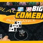 BIG COMEBACK! Awesome Finish To The Shoe | $1500 Buy In Blackjack Session