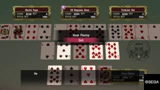 Yakuza 0 – BlackJack/ Poker Minigames Completion strategy