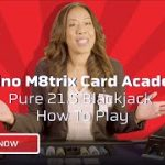 How To Play Pure 21.5 Blackjack In Under 2 Min – Casino M8trix Card Academy – Lesson 1