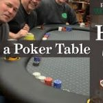 Learn to build a Poker Table | Woodcraft 101
