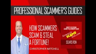 Christopher Mitchell $500 Strategy & FB Group exposed baccarat scammer