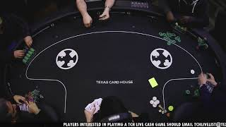 TCH Live – 12/7/2020 – $5/$5 No Limit Hold 'Em Cash Game