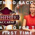 My First Look at Lightning Baccarat on Hollywoodbets