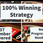 Roulette 100% winning strategy + All 37 number covered + No progression needed