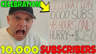Christopher Mitchell Celebrates 10,000 YouTube Subscribers & Gives A $250 Special For 48 Hours ONLY!