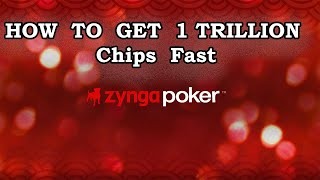 Zynga Poker How To Get 1 Trillion Chips Fast Tutorial 2020