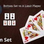 Poker Strategy: Bottom Set vs A Limit Player