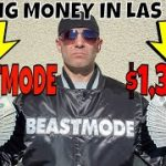 Making Money In Las Vegas- Christopher Mitchell's BEASTMODE Baccarat Strategies Make $1,300 Profit.