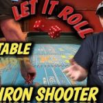 Craps Strategy $25 TABLE – THE IRON SHOOTER to try to win at craps – Regress to Iron Cross strategy.