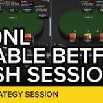 4-Tabling 200NL at Betfair | Live Poker Strategy Session