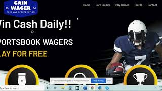 Tutorial How To Use GainWager / Sport Wagering