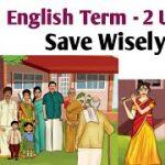 4th Std English Term 2 unit 2 Savings   Save Wisely   4th Standard English