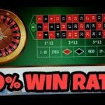 100% WIN RATE ROULETTE SYSTEM NEVER LOSES. WIN AT ROULETTE NOW!