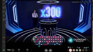Quantum Roulette Live (Playtech) – Gameplay