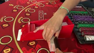 Double Deck Blackjack Card Counting Session $10,000 to win $5000 profit!