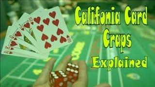 California Card Craps Explained