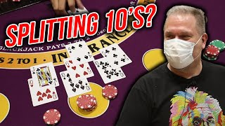 🔥 RISKING IT 🔥 10 Minute Blackjack Challenge – WIN BIG or BUST #53