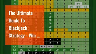 The Ultimate Guide To Blackjack Strategy – Win at Blackjack using Strategy