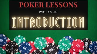 Poker Lessons: Introduction