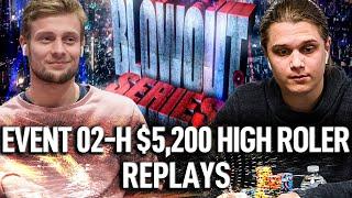 BLOWOUT SERIES 02-H $5,200 tinnoemulder | Lena900 | DuTTiFruTTi9 Final Table Poker Replays