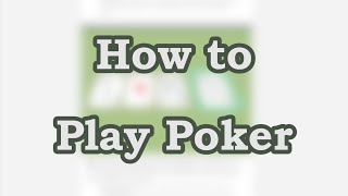 wikiHow Guide – How to Play Poker